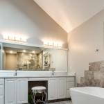 Batthroom Vanity, Lighting, Master bathroom Remodel