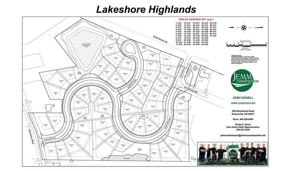 Lakeshore Highlands Jemm Construction