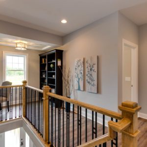 Carriage House Stair Landing Loft