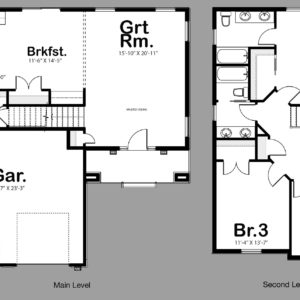 Capri Floor Plan Preview
