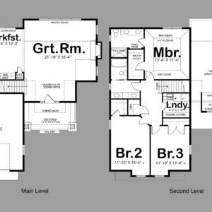 Capri II Floor Plan Preview
