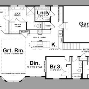 Tisbury II Layout Floor Plan