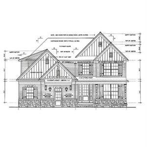 Pine Hollow Home Drawing