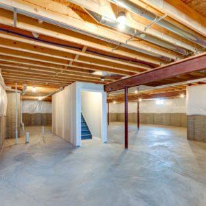Fairview Home Basement